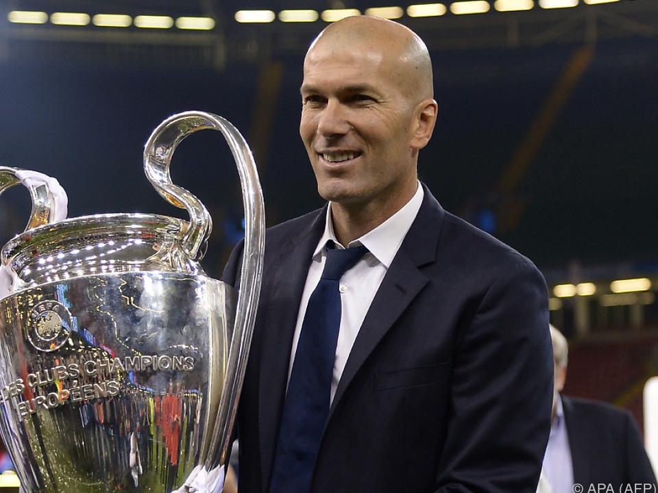 Zidanes Trainerkarriere blieb bisher ohne große Stolpersteine