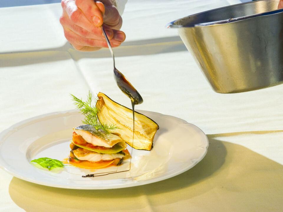 balsamico Essig gericht kochen