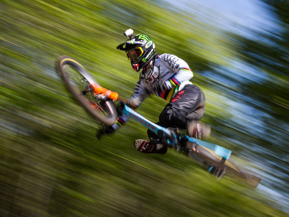 downhill danny hart  fahrrad