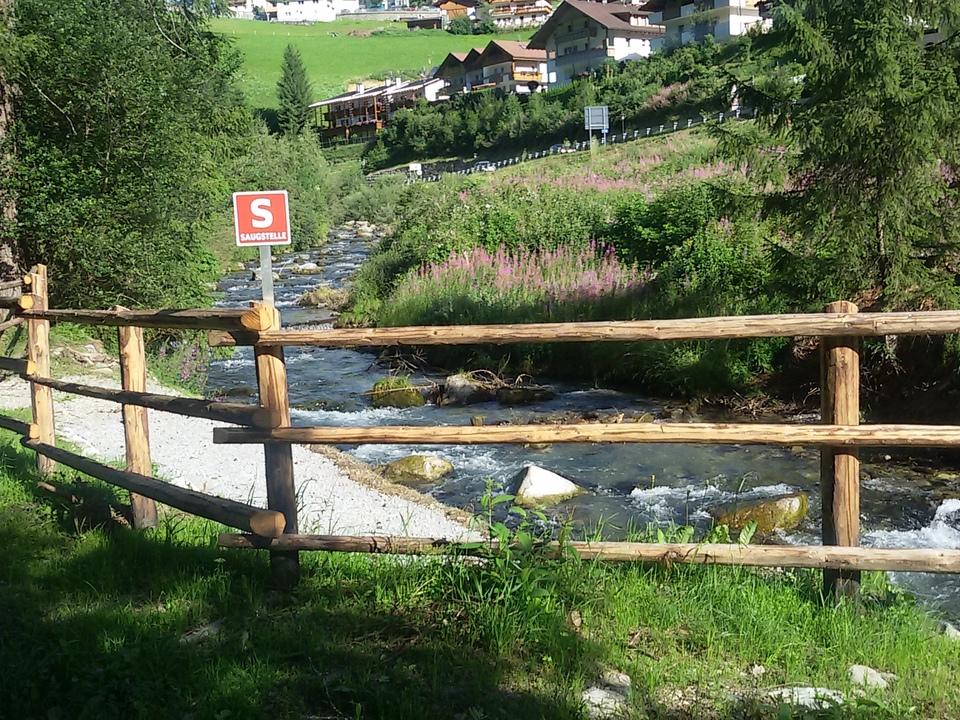 Wasserentnahme Mühlwalder Bach