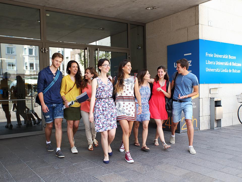 Freie Universität Bozen Studenten
