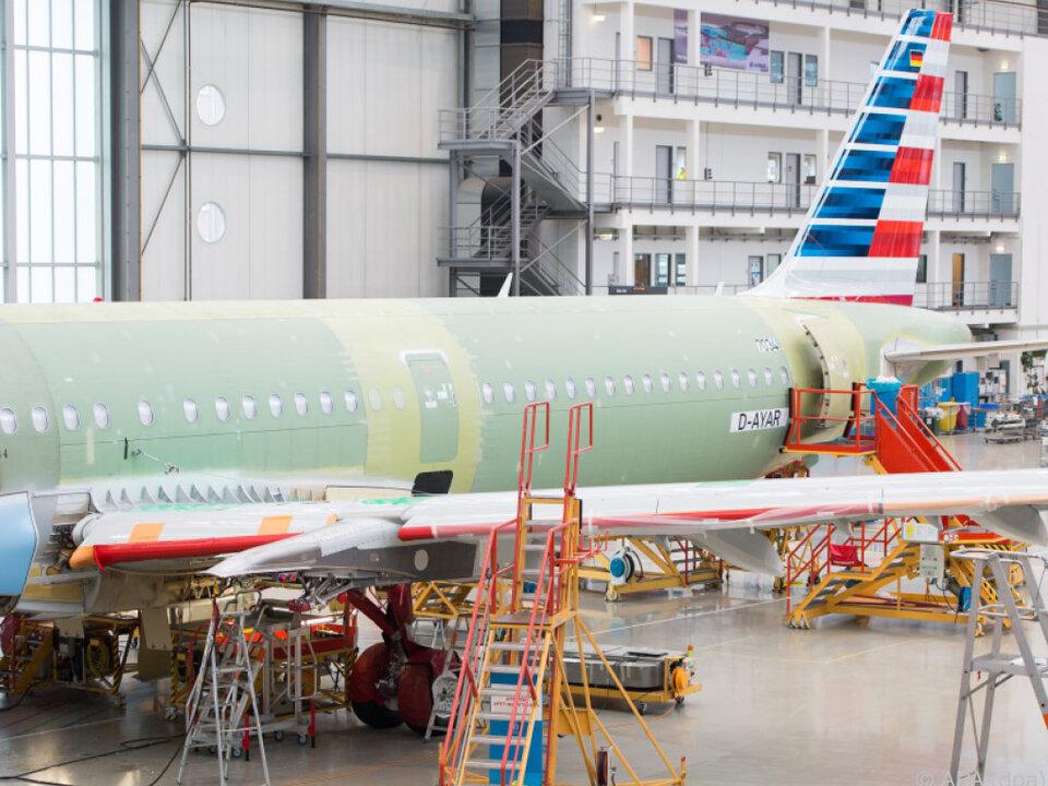 Airbus-Produktion: Großauftrag aus China über 140 Maschinen