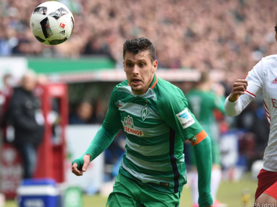 Aktuell ist Junuzovic mit Werder auf Trainingslager in Tirol