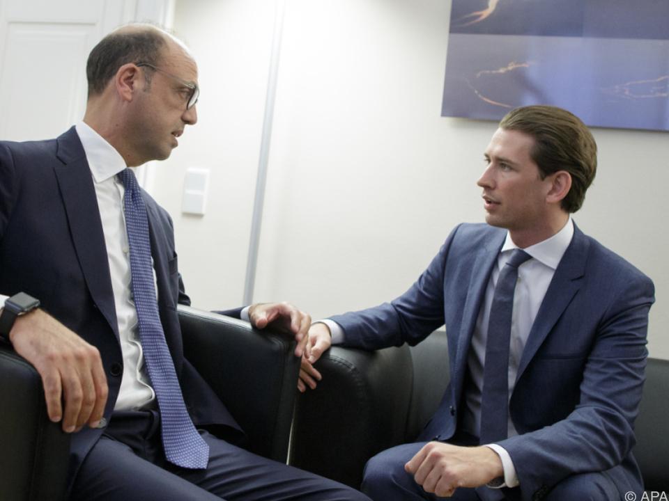 Alfano schreibt Kurz\' Aussagen dem österreichischen Wahlkampf zu