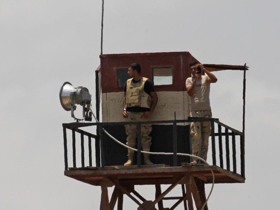 Viele Tote bei Gefechten auf dem Sinai