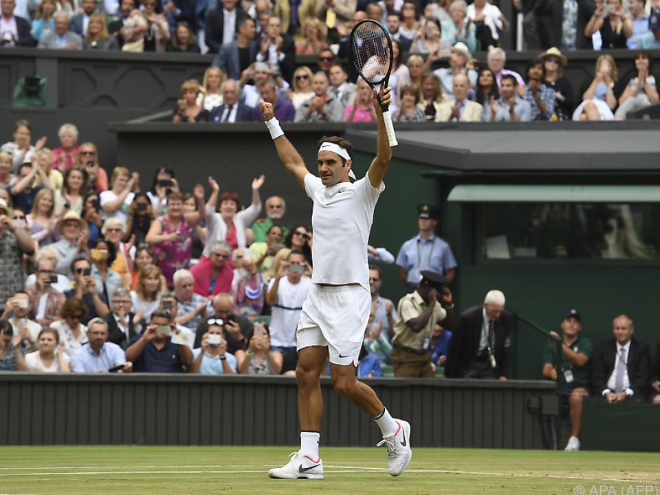 Am Sonntag geht es um den 19. Major-Titel Federers