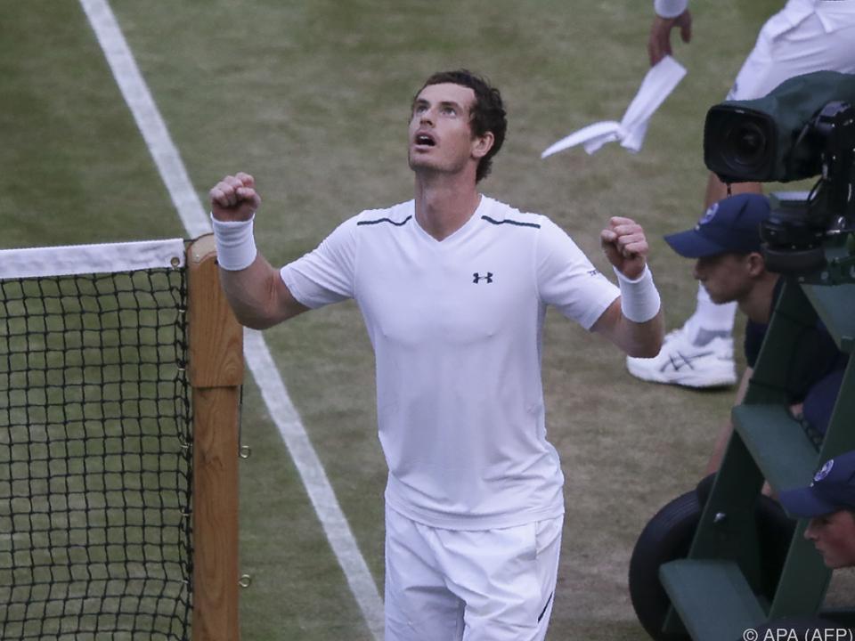 Andy Murray hatte einige Mühe
