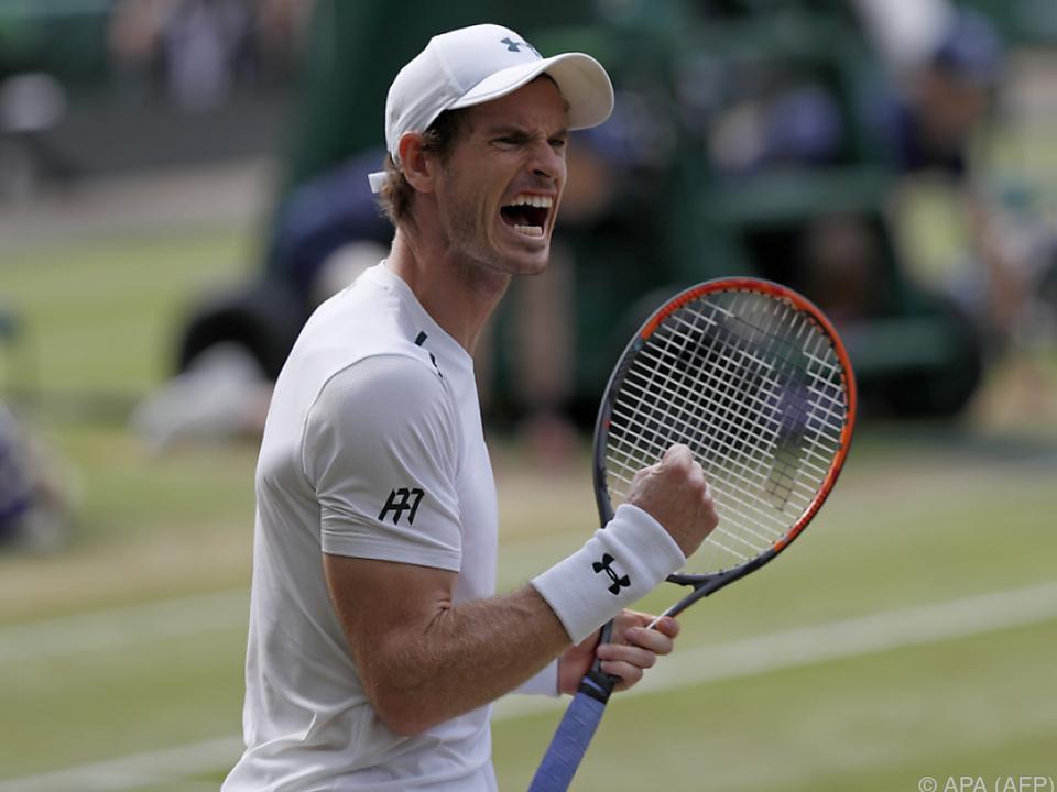 Auch bei Olympia 2012 triumphierte Murray in Wimbledon