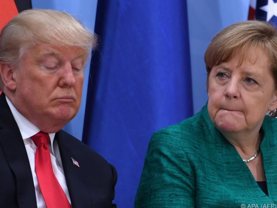 Beim Klimaschutz gab es keine Einigung mit US-Präsident Trump