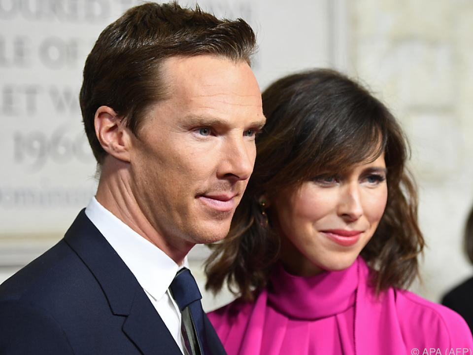 Benedict Cumberbatch und seine Frau Sophie Hunter