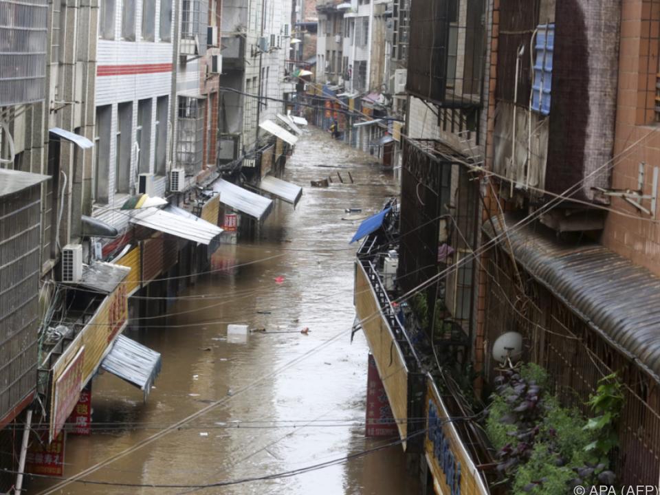 Besonders schlimm erwischte es die Provinz Hunan