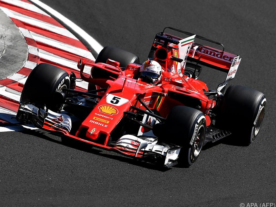 Bestzeit für den Ferrari-Piloten