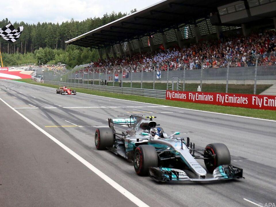 Bottas feierte in Spielberg seinen zweiten Formel-1-Sieg