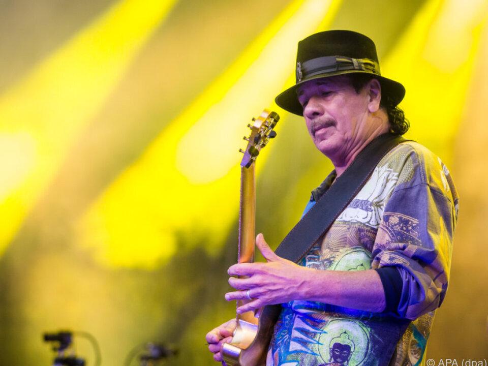 Carlos Santana ist durch seine Musik unsterblich