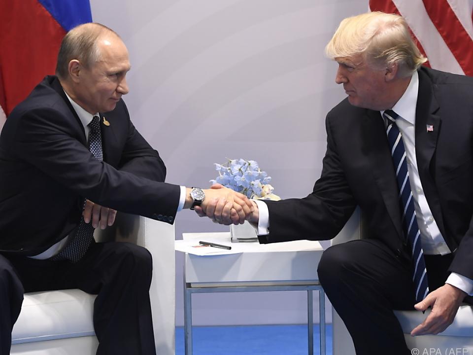 Chemie zwischen Putin und Trump dürfte stimmen