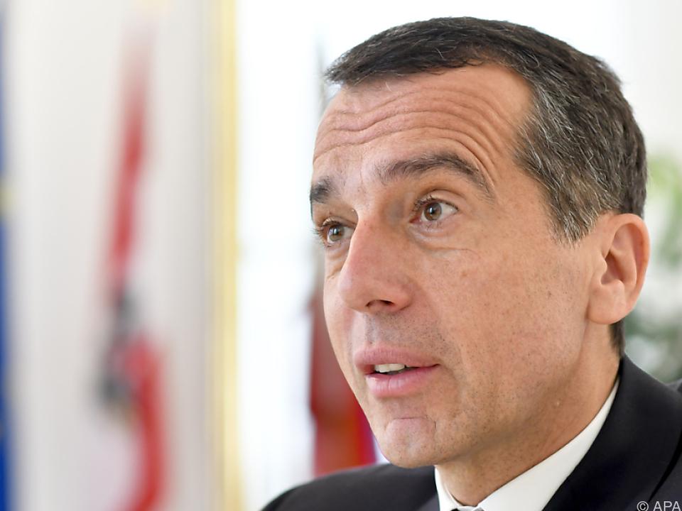 Christian Kern nimmt Innenminister Sobotka ins Visier