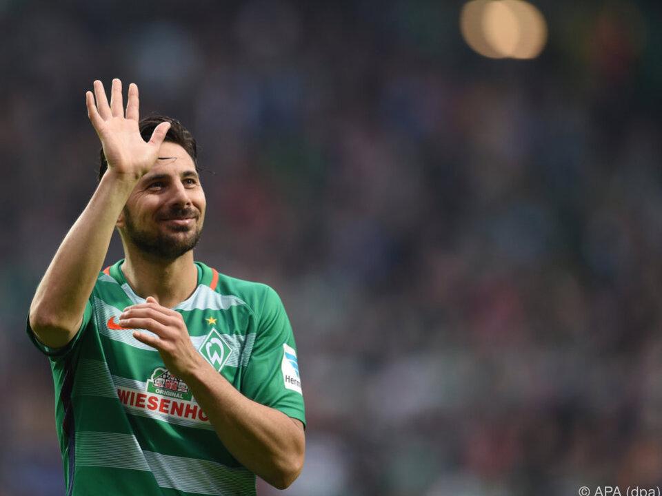 Trennung offiziell | Zu Gunsten der Talente: Darum will Werder Pizarro nicht mehr