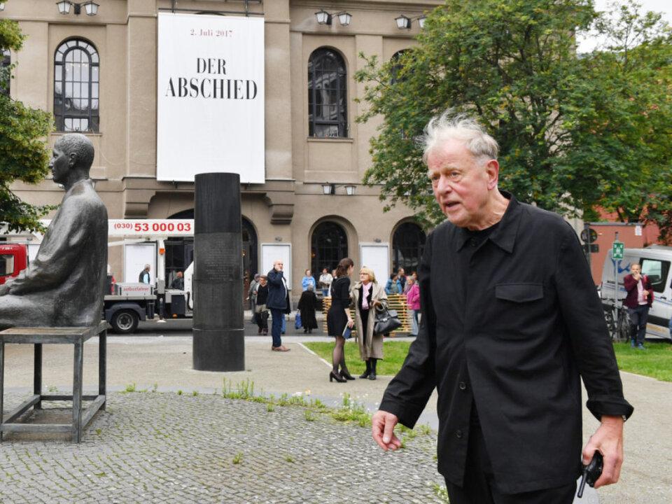 Claus Peymann vor seinem Abschiedsabend am Berliner Ensemble