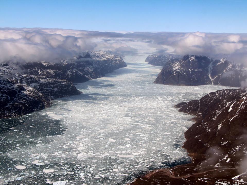 Das Meerwasser erwärmt sich immer stärker, weniger Eis ist die Folge