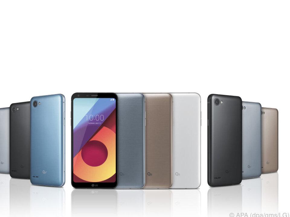 Das Mittelklasse-Smartphone gibt es in drei verschiedenen Ausführungen