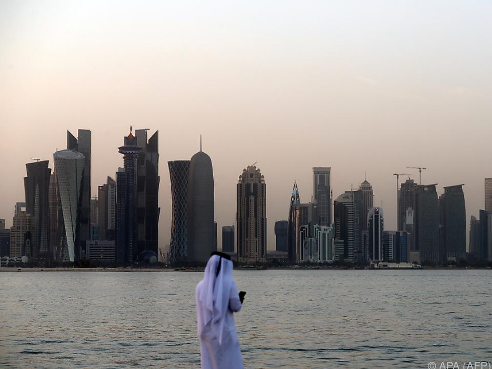 Das politisch isolierte Qatar verfügt über massive Geldreserven