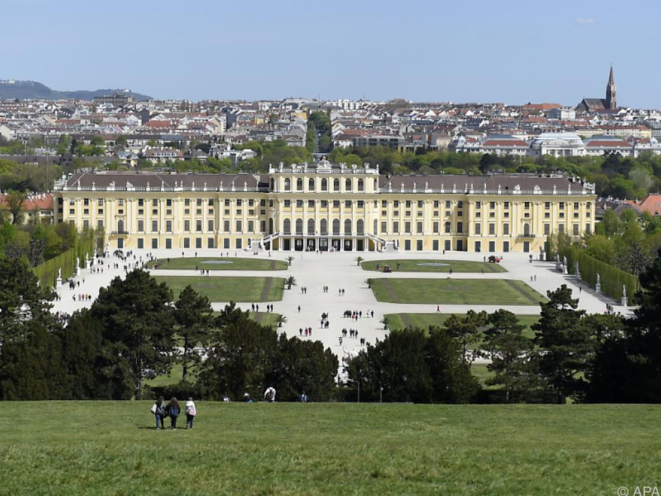 Das Schloss Schönbrunn zählt zu den beliebtesten Attraktionen