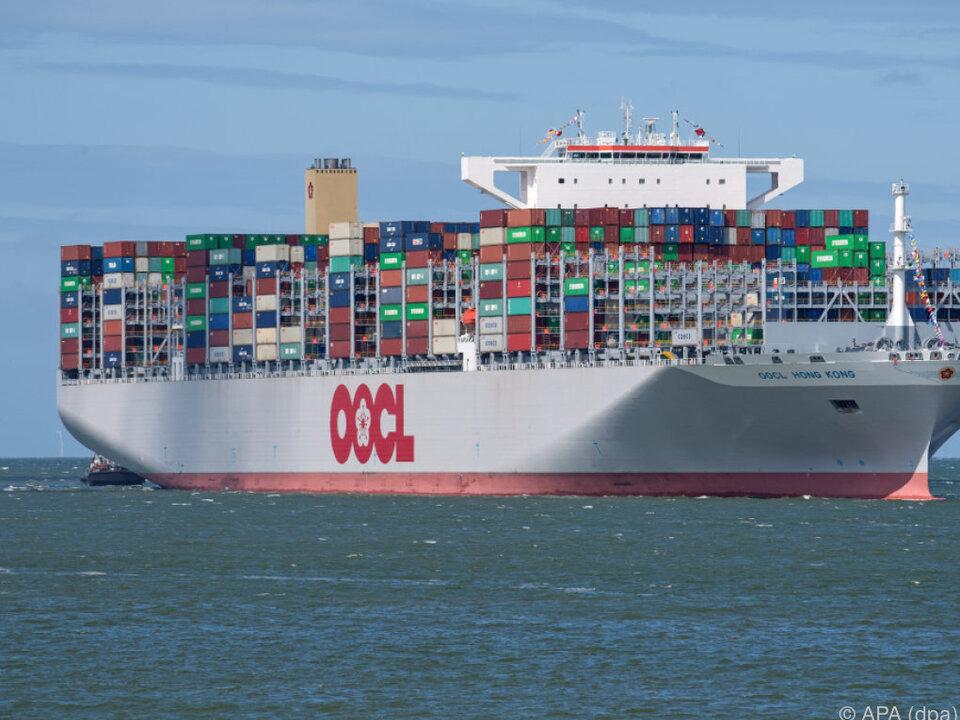 Das weltgrößte Containerschiff \