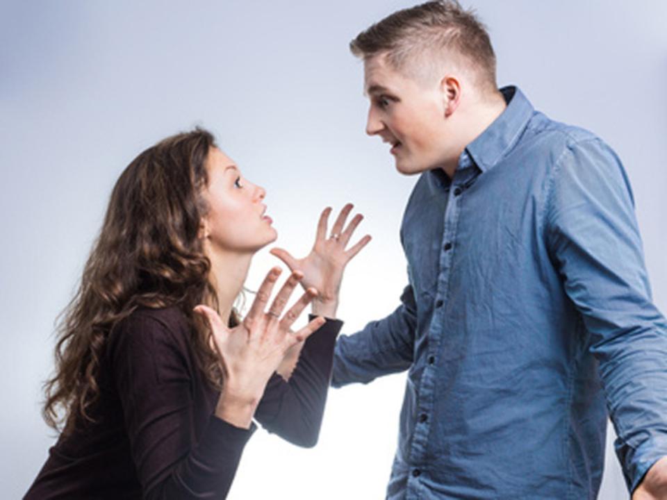 Streit Paar Mann Frau