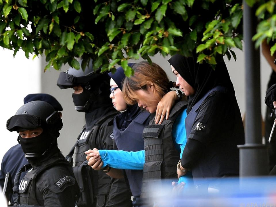 Den Frauen wird in Malaysia der Prozess gemacht