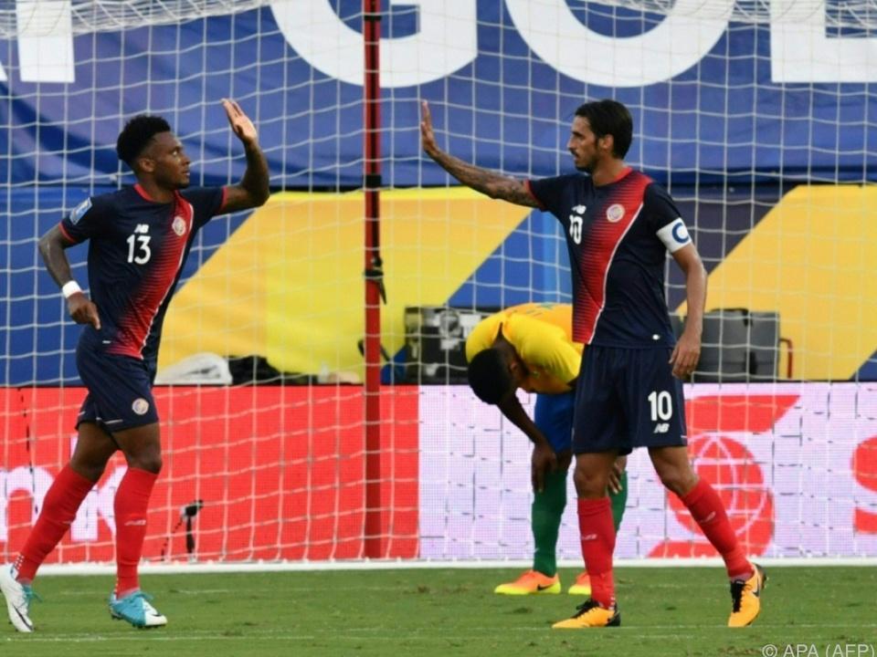 Den Sieg in der Gruppe A sicherte sich Costa Rica