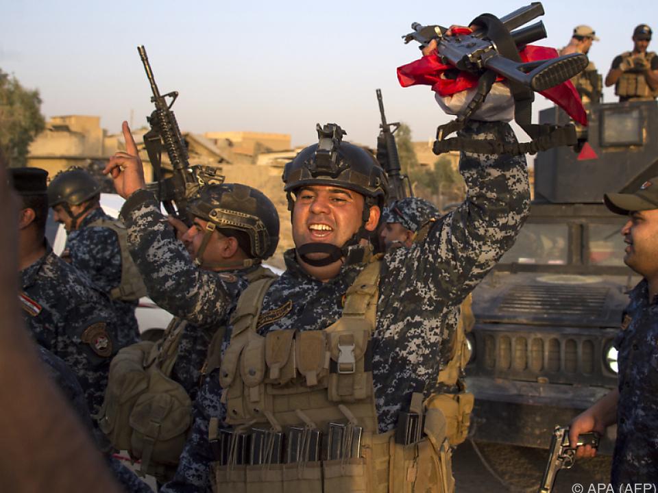 Iraks Sicherheitskräfte in IS-Hochburg Mosul kurz vorm Ziel