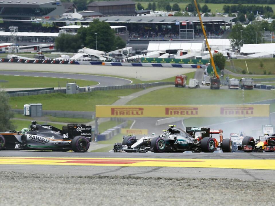 Der Red Bull Ring ist beliebt im Fahrerlager