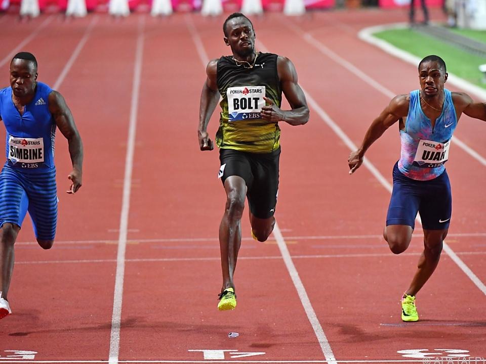 Der Weltrekordler setzte sich knapp durch