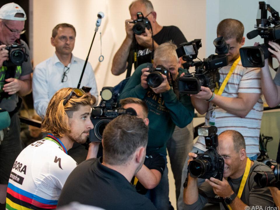 Die 104. Tour de France geht ohne Weltmeister Peter Sagan weiter