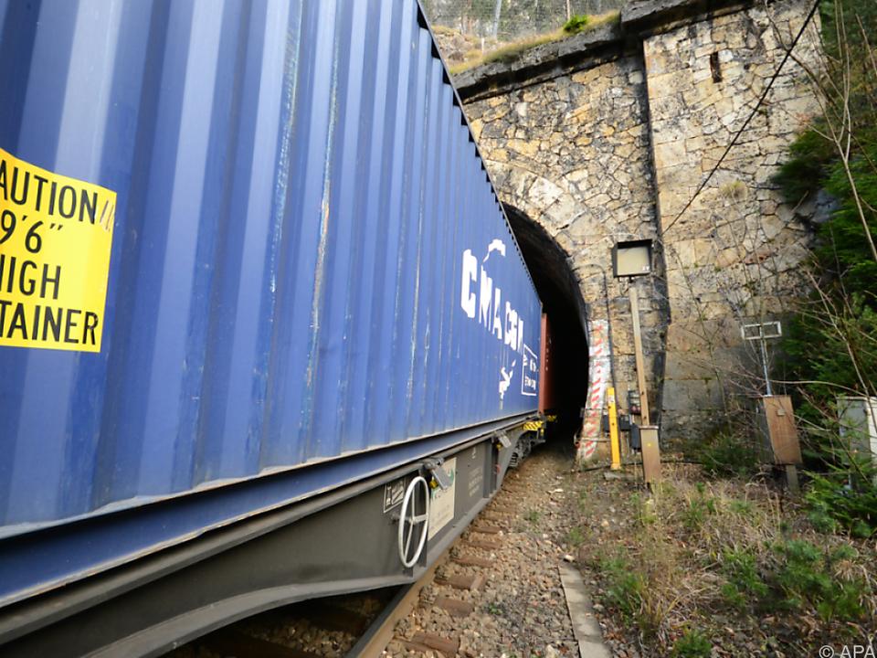 Die Bergstrecke war nach dem Unfall rund zwei Wochen gesperrt