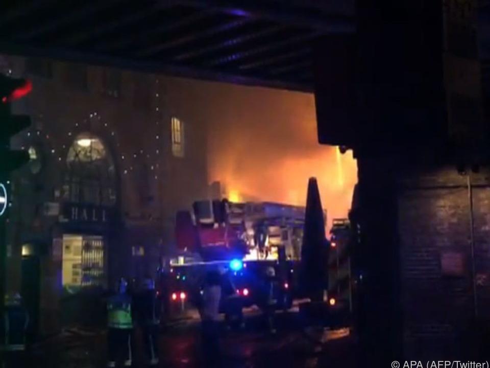 Die Feuerwehr war mit 70 Mann im Einsatz