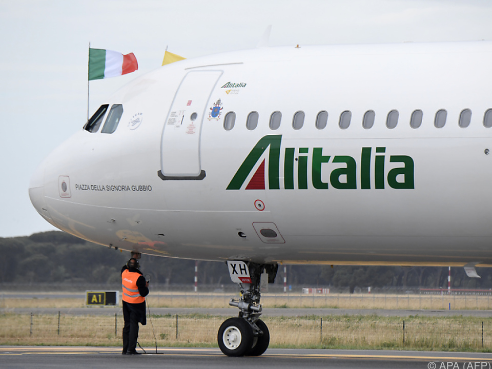 Die italienische Fluglinie sucht einen Abnehmer