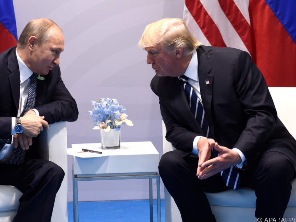 Die zwei mächtigen Männer fanden durchaus einen Draht zueinander
