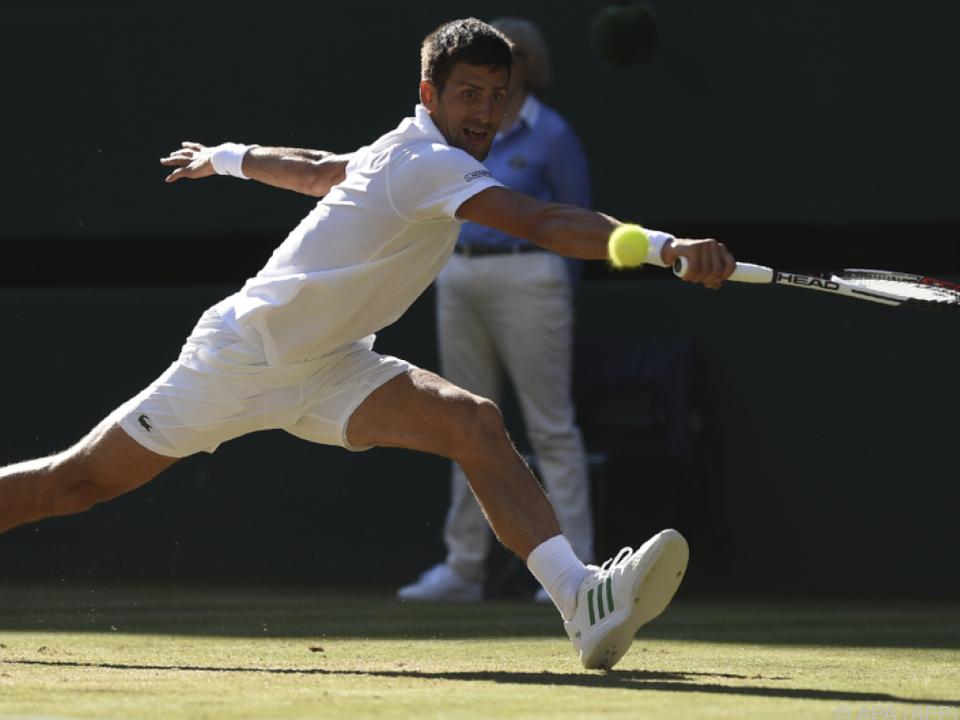 Djokovic gab keinen Satz ab