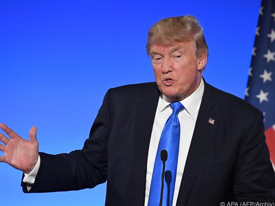 Donald Trump holt sich Unterstützung