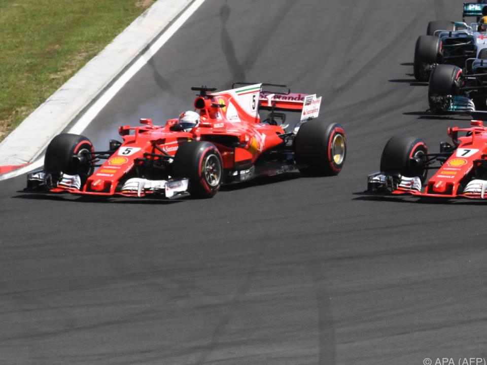 Doppelerfolg für Ferrari
