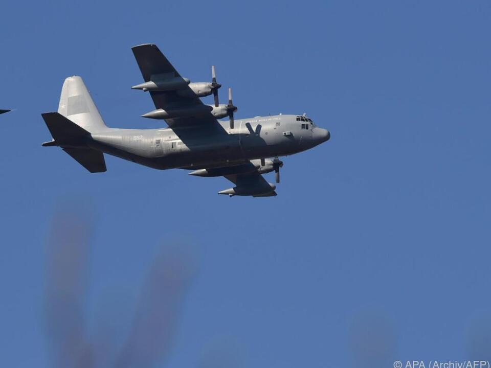 Es handelte sich um eine Maschine des Typs KC-130