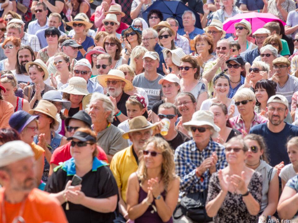 Festival stößt auf Kapazitätsgrenzen