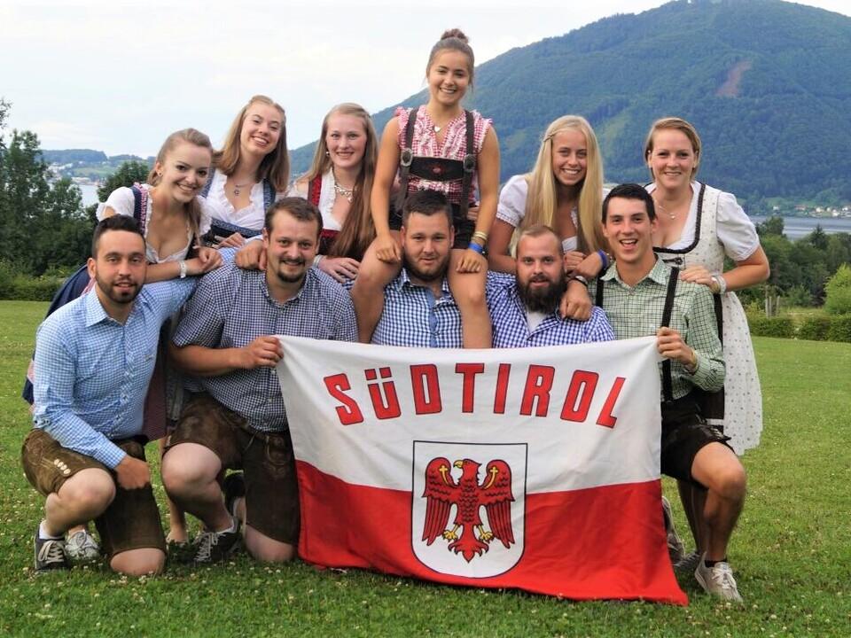 Foto 3: Die Teilnehmer und Jurymitglieder aus Südtirol erlebten ein tolles Wochenende in Gmunden am Traunsee