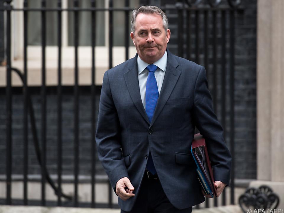 Fox ist für eine Vereinbarung über einen reibungslosen Brexit