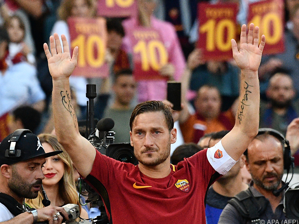 Francesco Totti bleibt seiner Roma treu