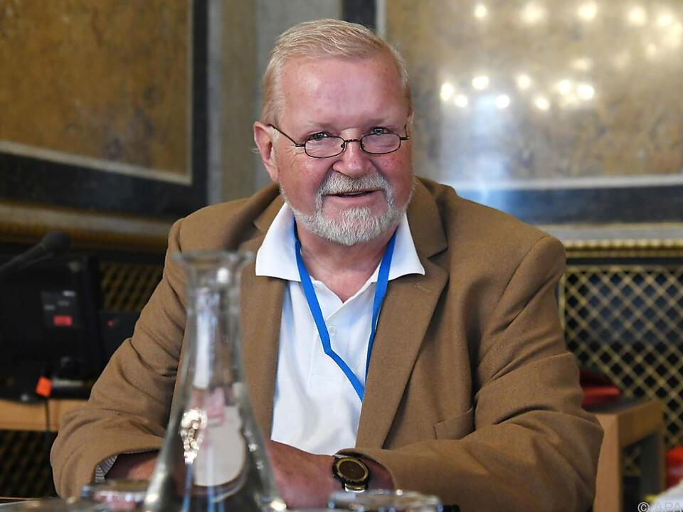 Franz Borth im Eurofighter-U-Ausschuss