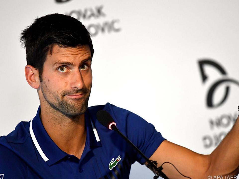 Für Djokovic ist seine derzeitige Position wohl Nebensache