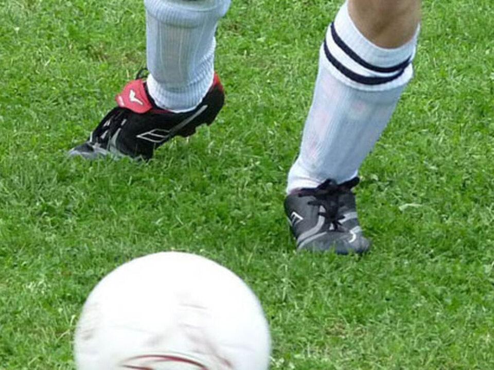 Fußball leer