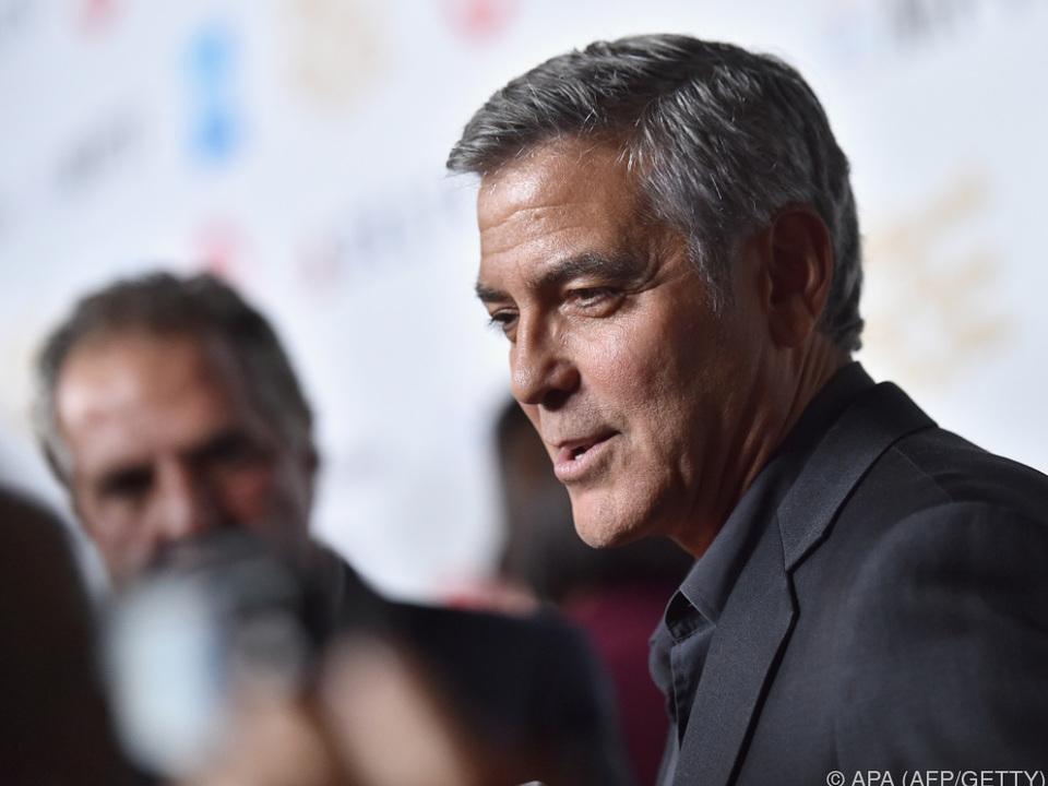 George Clooney ist sauer